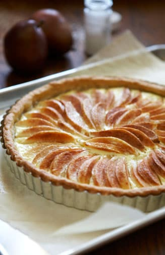 Pear Tart_David Schmit
