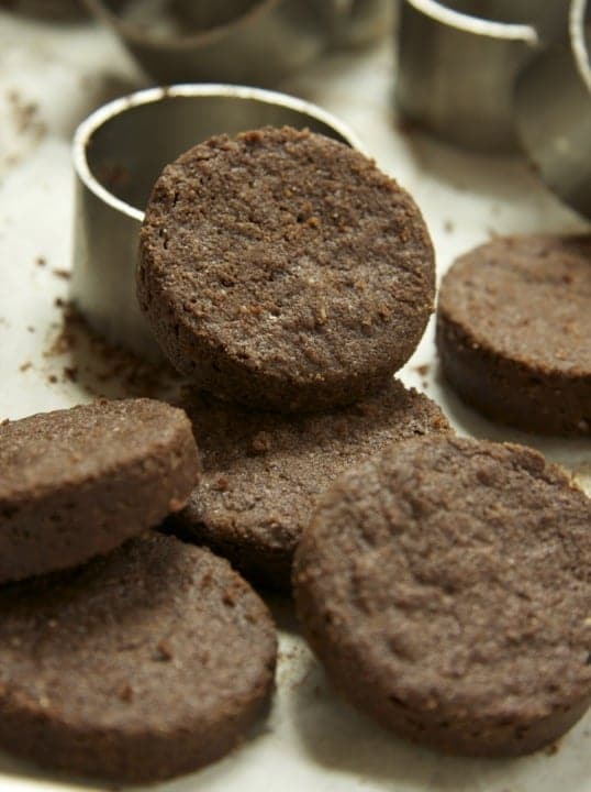Chocoalate Shortbread Cookie